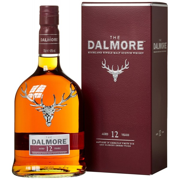 DALMORE HIGHLAND SINGLE MALT WHISKY 12 Y.O.  ΠΡΟΪΟΝΤΑ Krasopoulio | Κάβα