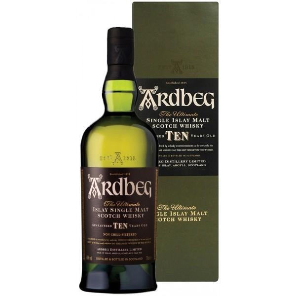 whisky ardbeg islay single malt 10 y.o.