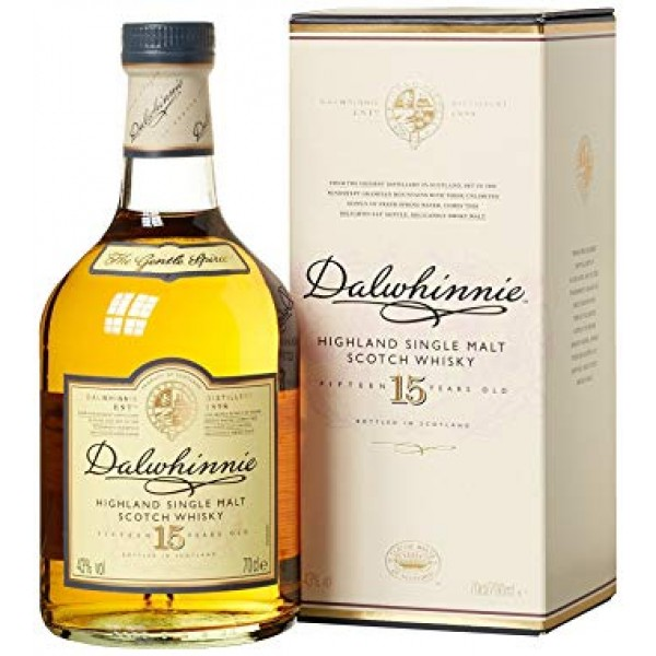 whisky dalwhinnie highland single malt scotch 15 y.o.