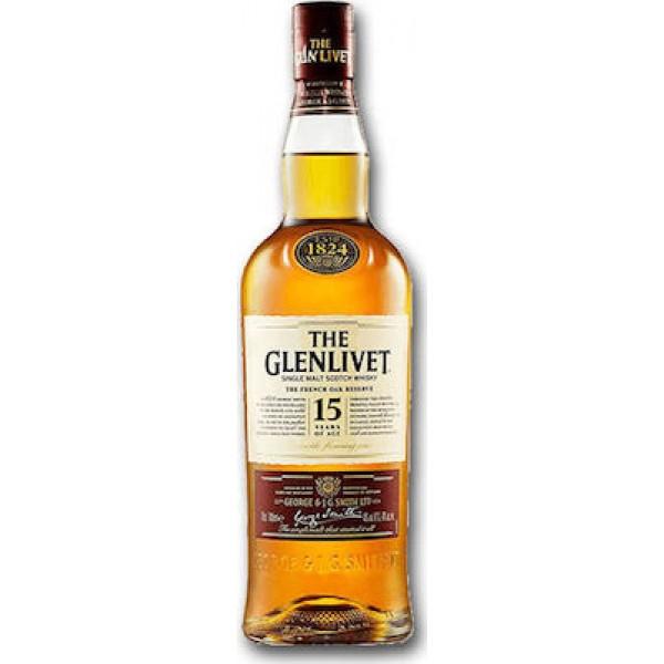 Glenlivet Distillery 15 Year Old 0,7L