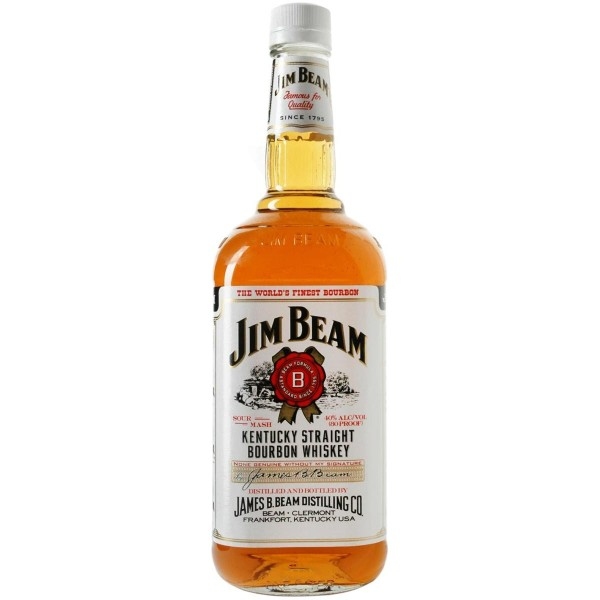 jim beam kentacky bourbon whiskey